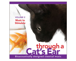 iCalm - Music to Stimulate Your Cat, Vol. 2 (CD)