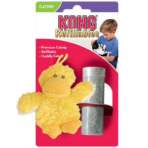 Kong - Refillable Duck Catnip Cat Toy