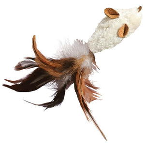 Kong - Refillable Feather-Tailed Mouse Catnip Cat Toy