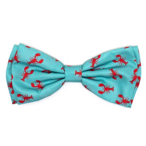 The Worthy Dog Lobster Dog & Cat Bow Tie