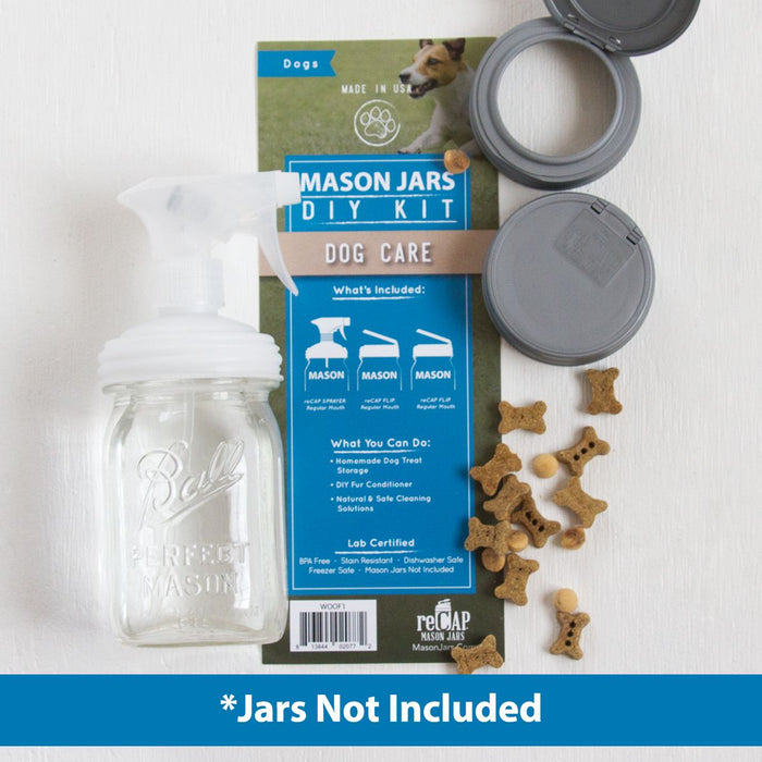 reCAP Mason Jar DIY Kit