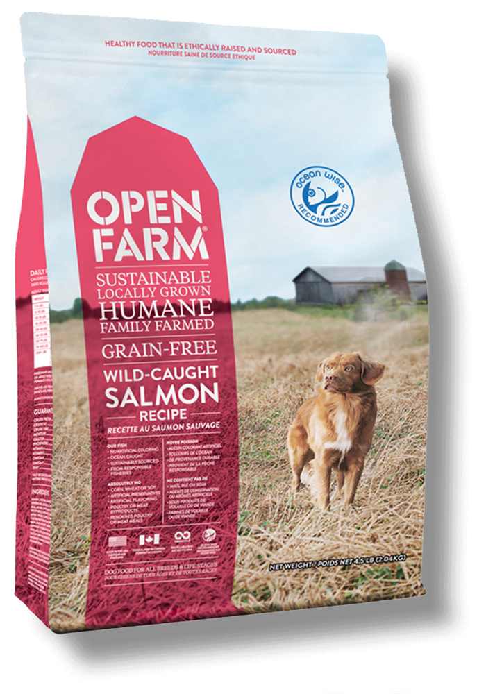 Open Farm - Wild-Caught Salmon Grain-Free Dry Dog Food