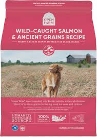 Open Farm - Wild-Caught Salmon & Ancient Grains Dry Dog Food*Special Order*