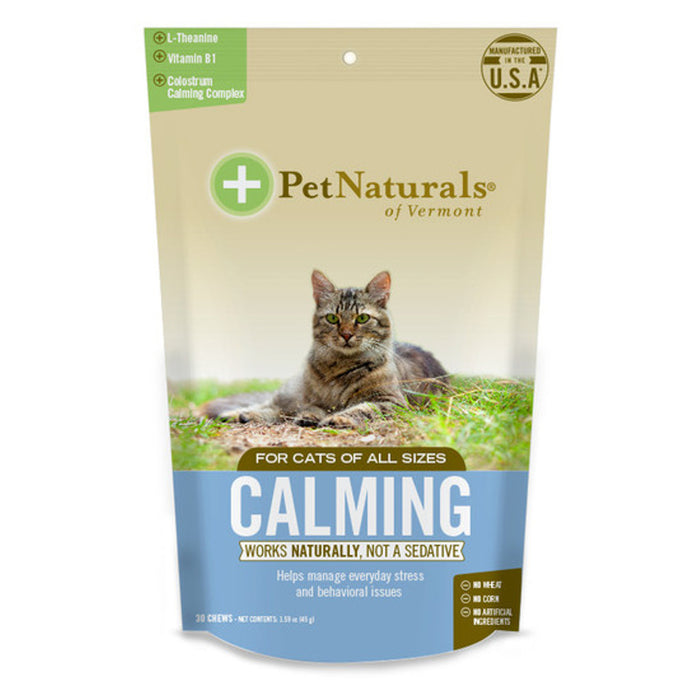 Pet Naturals -Calming Chews for Cats (30 ct)