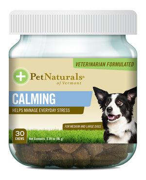 Pet Naturals - Calming Chews for Medium and Large Dogs (30 ct)
