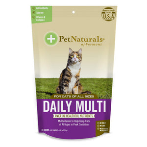 Pet Naturals - Daily Multi-Vitamin Chew for Cats (30 ct)