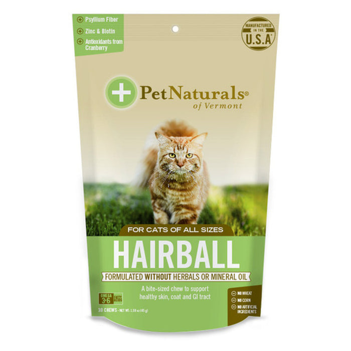Pet Naturals - Hairball Chews for Cats (30 ct)