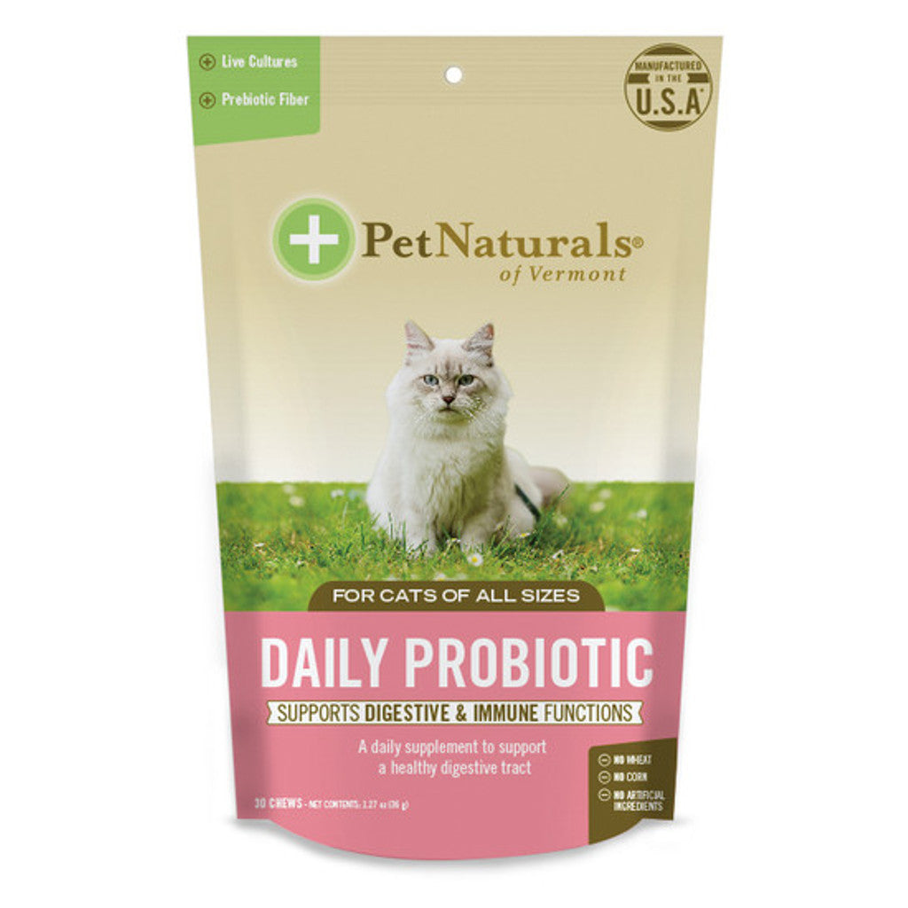 Pet Naturals - Daily Probiotic Chews for Cats (30 ct)