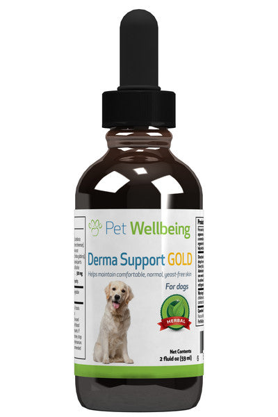 Pet Wellbeing - Derma Support GOLD for Dogs (2 fl oz)