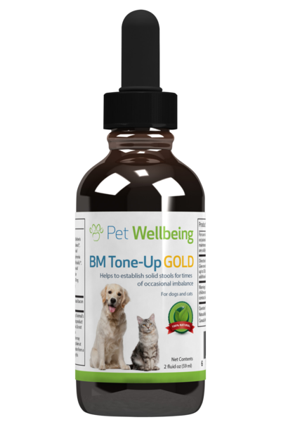 Pet Wellbeing - BM Tone-Up GOLD for Dogs and Cats (2 fl oz)