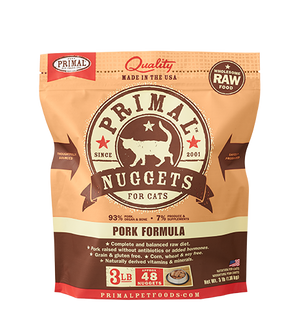 Primal - Raw Frozen Nuggets for Cats (3 lb)*SPECIAL ORDER*