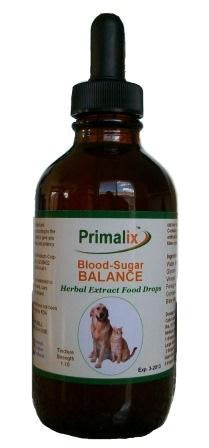 Natural Wonder - Primalix Blood-Sugar Balance Food Drops for Dogs and Cats