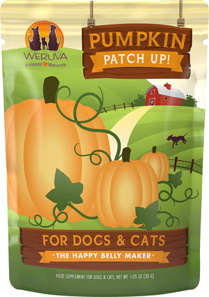 Weruva Pumpkin Patch Up! Supplement for Dogs and Cats (12 pack of 1.05oz pouches)