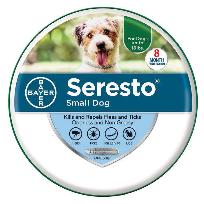 Seresto Flea and Tick Collar for Dogs & Cats, 8-Month Tick and Flea Control*