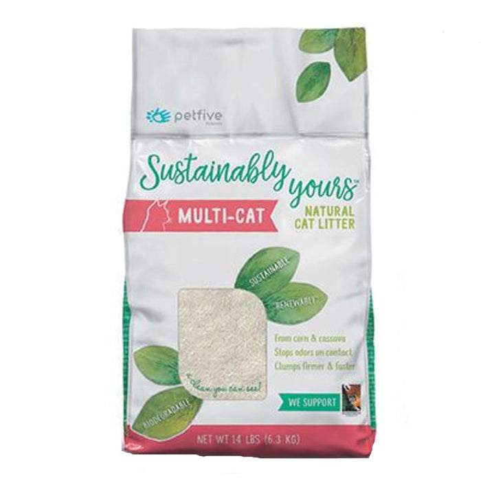 Sustainably Yours Natural Cat Litter (13 lb)