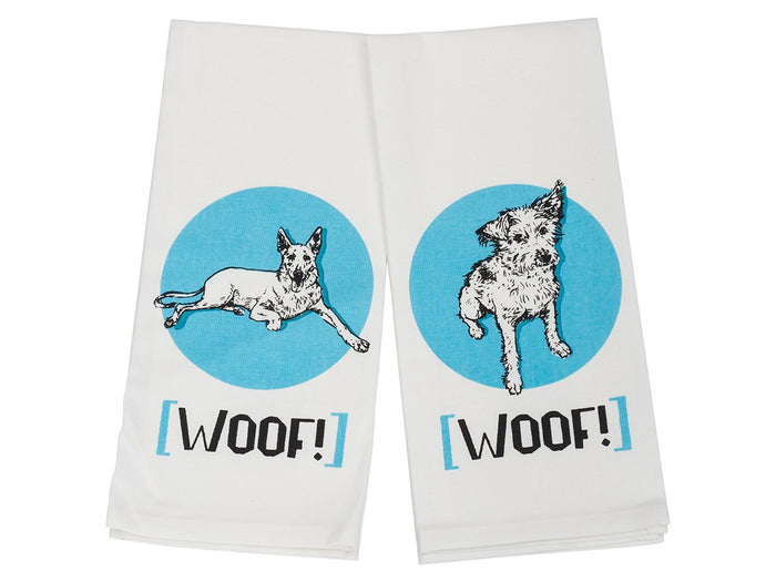 House & Hound - Kitchen Towel Set (Woof!)