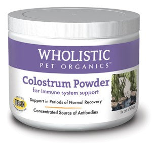 Wholistic Pet Organics - Colostrum Powder for Cats (2 oz)