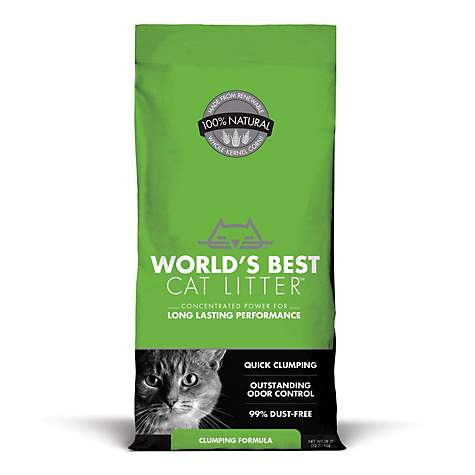 World's Best Cat Litter - Clumping Formula (28lb)
