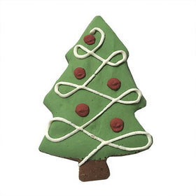 Bubba Rose Individually Wrapped Holiday Dog Cookie: Christmas Tree