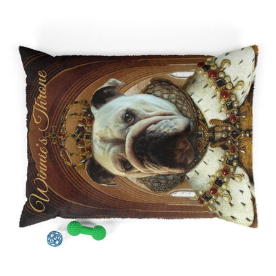SquishyFacedCrew™ Your Pets Throne Dog Bed