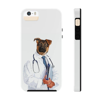 SquishyFacedCrew™ Personalised 'THE DOCTOR' Phone Case - SquishyFacedCrew