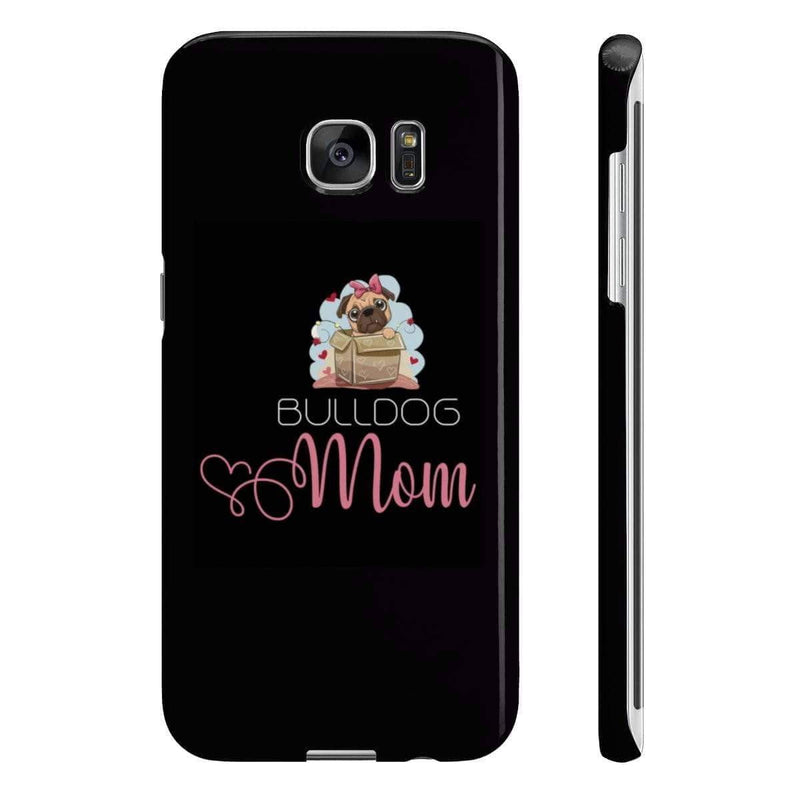 Wpaps Slim Phone Cases | Bulldogs Mom - SquishyFacedCrew