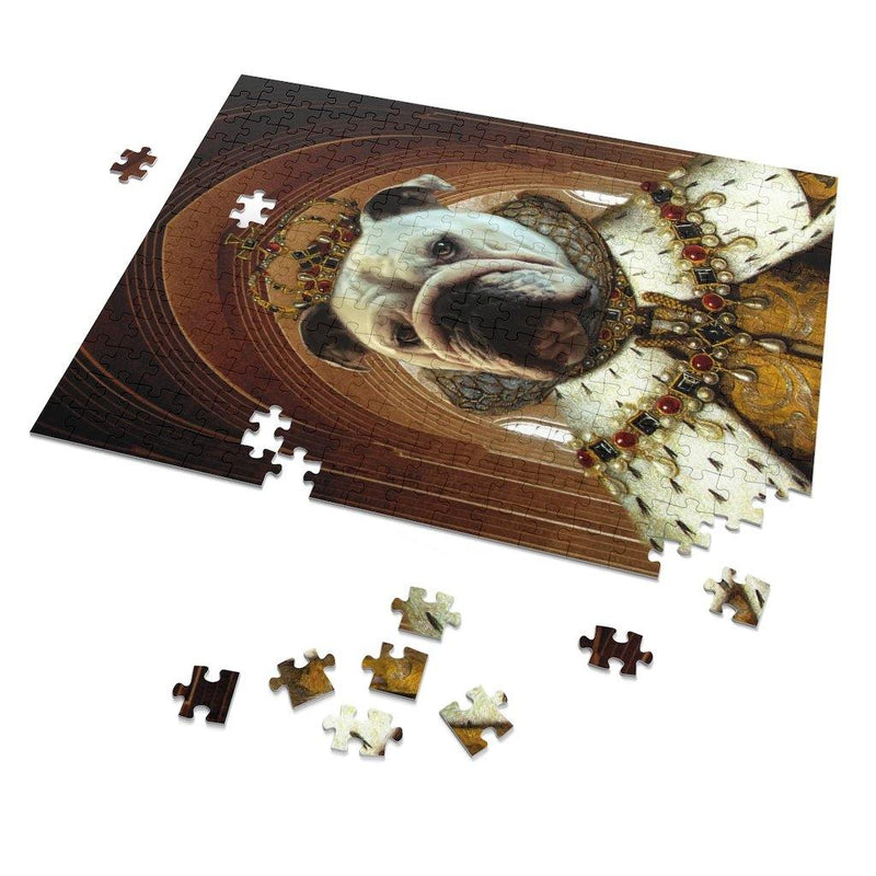 SquishyFacedCrew 'Royalty' Personalised 252 Piece Puzzle