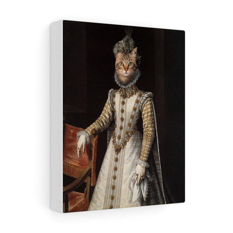 SquishyFacedCrew™ 'The Lady In Waiting' Custom Pet Canvas - SquishyFacedCrew