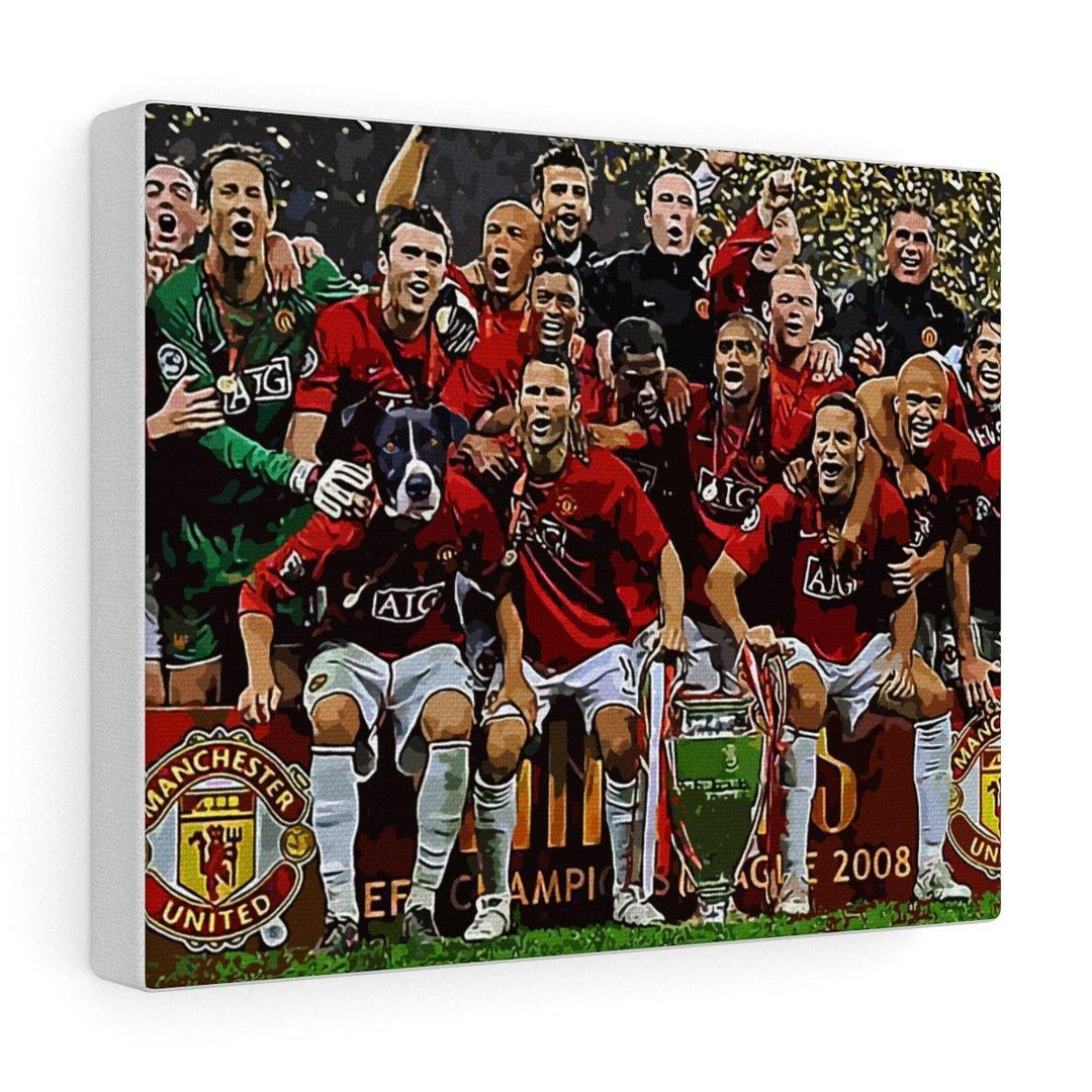 SquishyFacedCrew™ 'The Footballer!' Custom Pet Canvas