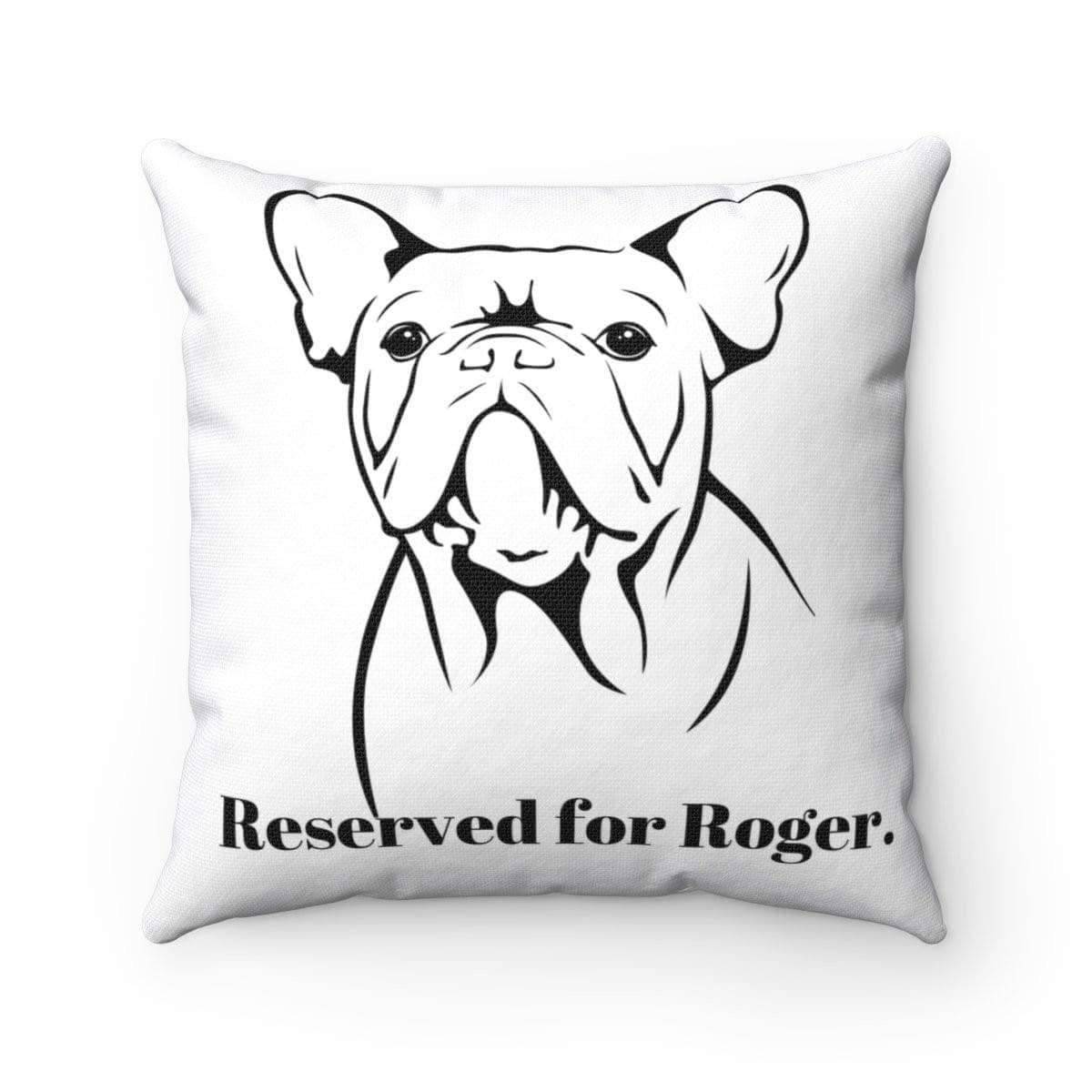 Personalised Square Pillow | Reserved For Your Pet - SquishyFacedCrew