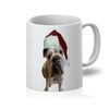 SquishyFacedCrew™ Santa's Hat 11oz Mug - SquishyFacedCrew