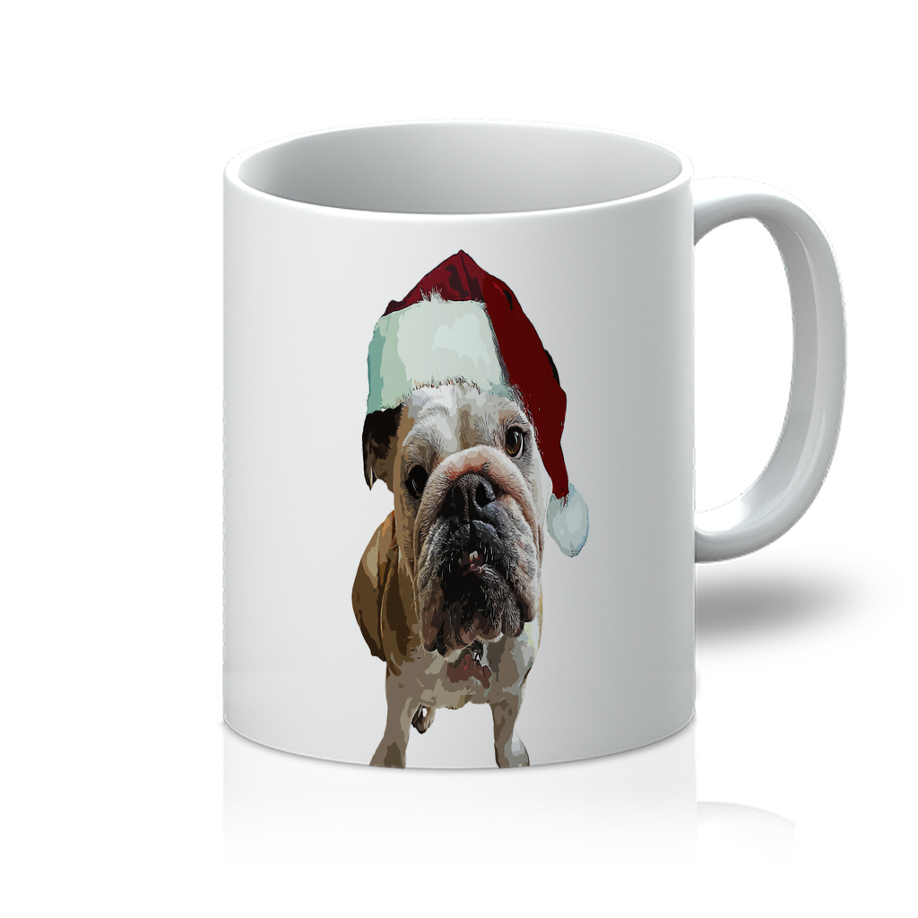 SquishyFacedCrew™ Santa's Hat 11oz Mug