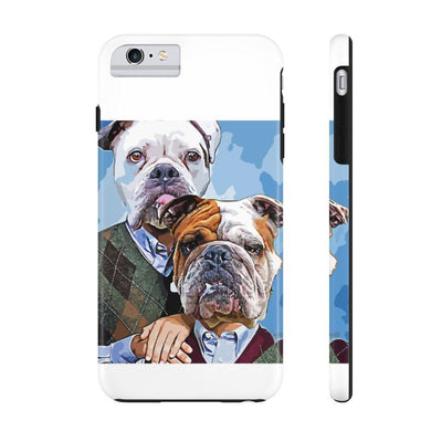 SquishyFacedCrew™ Personalised 'AWKWARD STEP BROS' Phone Case