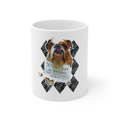 SquishyFacedCrew™ Custom cartoon 11oz Mug - SquishyFacedCrew