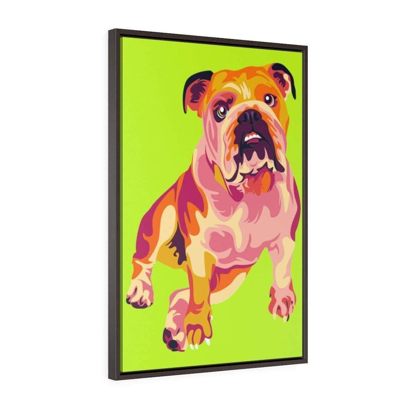 SquishyFacedCrew™ Custom Pop Art Vertical Framed Canvas - SquishyFacedCrew