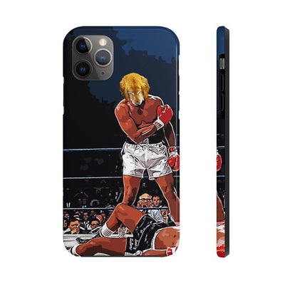 SquishyFacedCrew™ Personalised 'THE HEAVYWEIGHT CHAMPION' Phone Case - SquishyFacedCrew