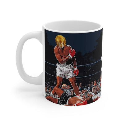SquishyFacedCrew™ Custom 'THE HEAVYWEIGHT CHAMP!' 11oz Mug - SquishyFacedCrew