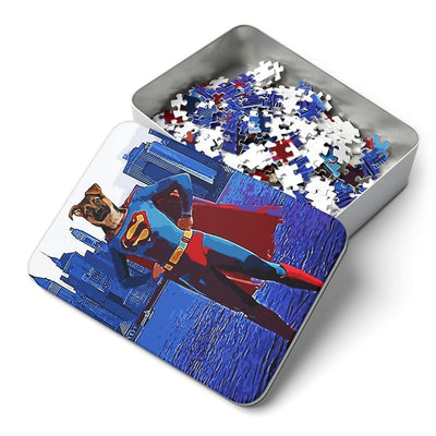 SquishyFacedCrew 'SuperPAWS' Personalised 252 Piece Puzzle