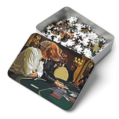 SquishyFacedCrew 'The Gambler' Personalised 252 Piece Puzzle