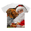 Santa Paws Classic Sublimation Adult T-Shirt