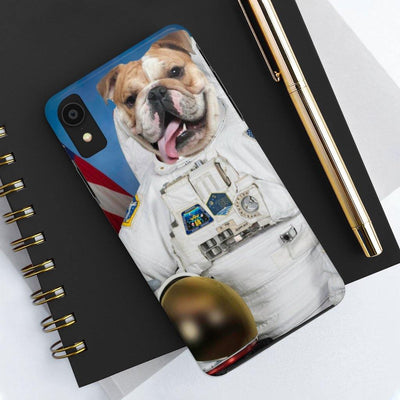SquishyFacedCrew™ Personalised 'The Astronaut' Phone Case - SquishyFacedCrew