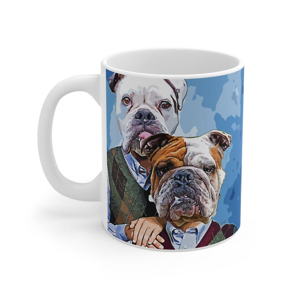 "SquishyFacedCrew™ ""AWKWARD STEP BROS 11oz Mug"
