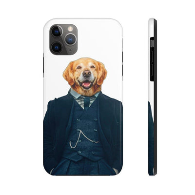 SquishyFacedCrew™ 'The Detective' Personalised Pet Phone Case
