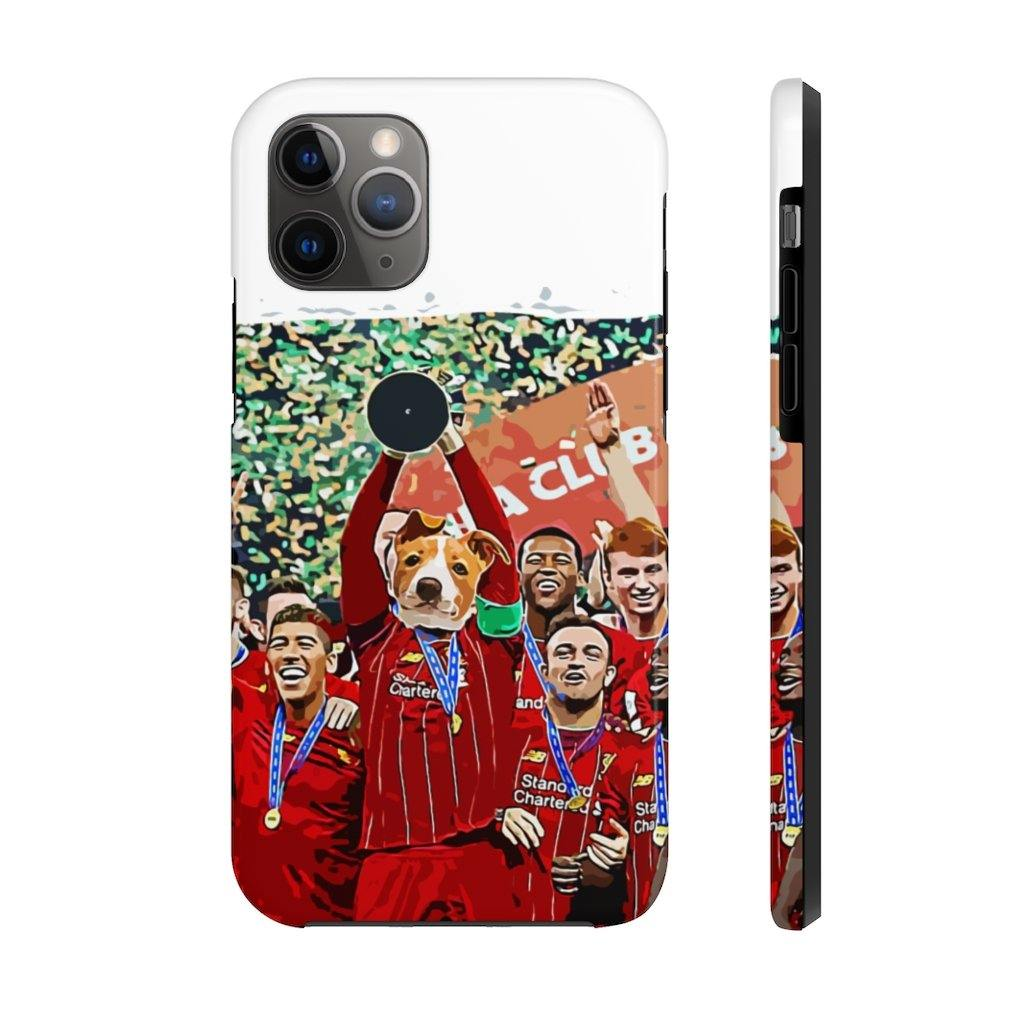 SquishyFacedCrew™ Personalised 'THE SOCCER CHAMP' Phone Case