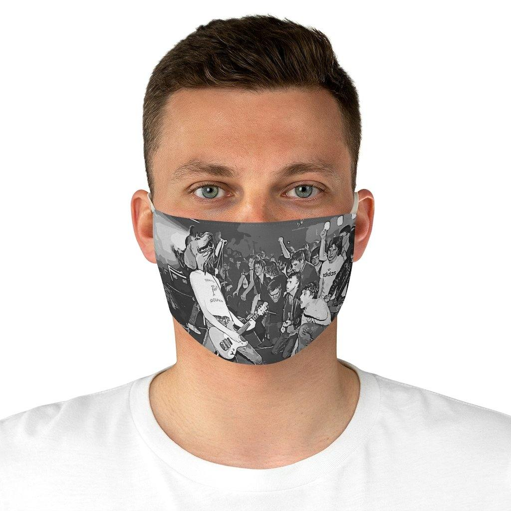SquishyFacedCrew™ 'THE ROCKER' Face Mask
