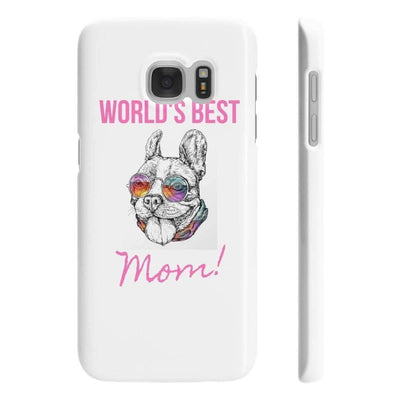 Wpaps Slim Phone Cases | Worlds Best Frenchie Mom Hip - SquishyFacedCrew