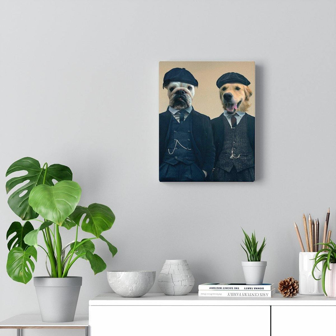 SquishyFacedCrew™ Peaky Blinders Custom Pet Canvas