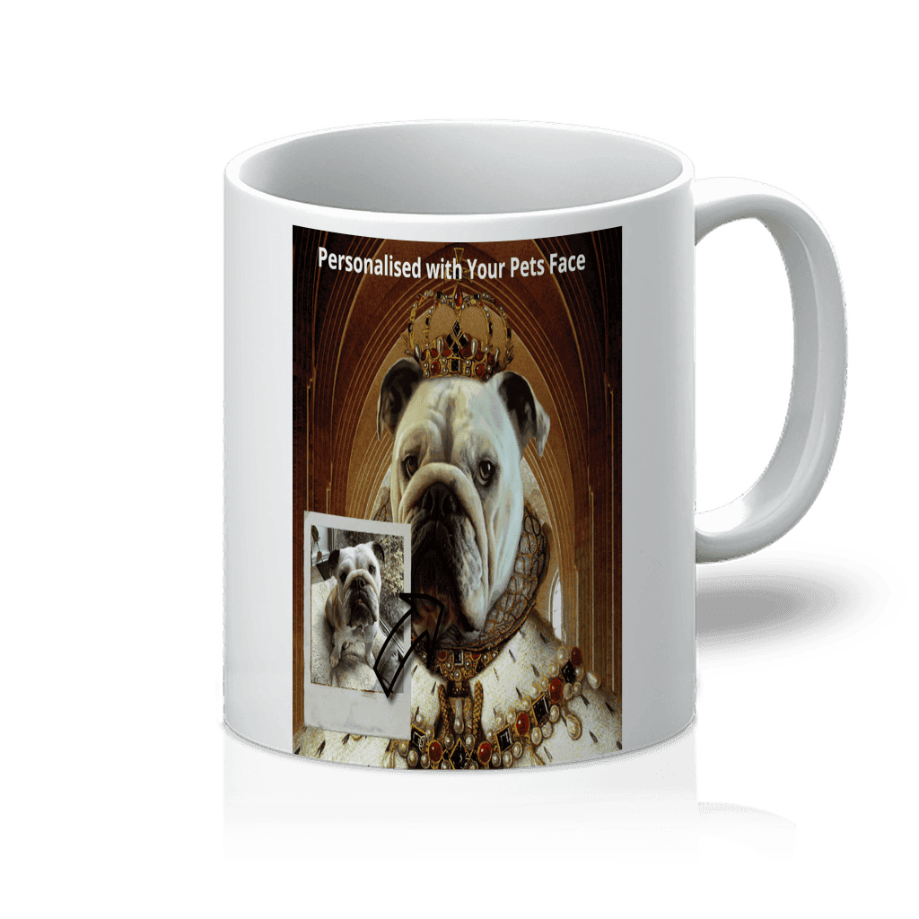 SquishyFacedCrew™ Renaissance Art Featuring Your Pet 11oz Mug