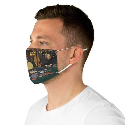 SquishyFacedCrew™ 'THE GAMBLER' Face Mask
