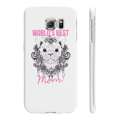 Wpaps Slim Phone Cases | Worlds Best Frenchie Mom - SquishyFacedCrew